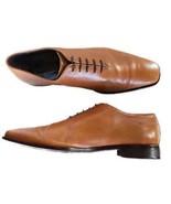 DONALD J. PLINER Men's Tan Brown Whole Cut Dress Oxford Shoes Size 15M - $72.39