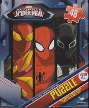 Brand New Ultimate Spider-man  Jigsaw Shaped puzzle 48 pieces Spiderman  - $5.89