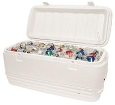 120 Quart Cooler White Picnic Drinks Ice Cold L... - $157.00