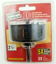 Vermont American 2 1/2 In. Carbon Hole Saw With Mandrel 18340 - $13.49