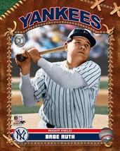 Babe Ruth  New York Yankees Vintage 8X10 Color Baseball Memorabilia Photo - $5.99