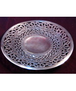 Antique Forbes Silver Plate Company Reticulated Mint Pastry Server 1900s - $49.99