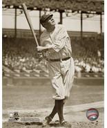 Babe Ruth Swing New York Yankees Vintage 8X10 Sepia Baseball Memorabilia... - $4.99