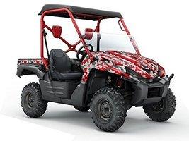 AMR Racing Kawasaki Teryx 750 07- 09 UTV Side X Side Graphic Decal Kit -... - $366.29