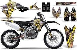2010-2013 Yamaha YZF 450 AMRRACING ATV Graphics Decal Kit-Iron Maiden-Killers - $158.35