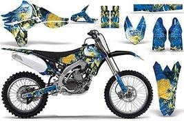 Iron Maiden-AMRRACING MX Graphics decal kit fits Yamaha YZF450 (2010-2013)-LAD - $158.39