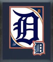 Detroit Tigers 2016 Team Logo-11 x 14 Team Logo Matted/ Framed Photo - $43.55