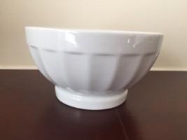White Cereal Ice Cream Bowls Cordon Bleu Soup Fruit Cereal Bowl - 1 Pc - $5.00
