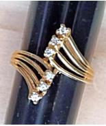 Diamond Strand Ring (0.15 CTW) 14K Gold (New/Unworn)  - $295.00