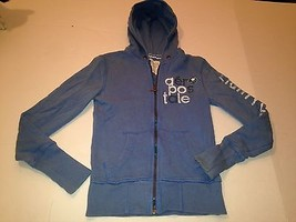 Aeropostale Size Small Blue Zipper Front Hooded Jacket  - $6.80