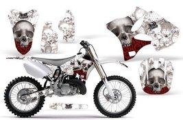 Bone Collector-AMRRACING MX Graphics decal kit fits Yamaha YZ 125/250 (2002-2... - $158.39