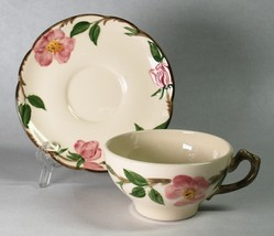 Franciscan Desert Rose Cup & Saucer Made in USA Pottery - $10.00