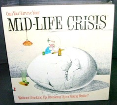 Can You Survive Your MID-LIFE CRISIS Board Game NEW! From 1982 - $24.96