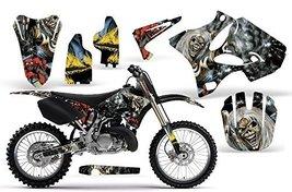 Iron Maiden-AMRRACING MX Graphics decal kit fits Yamaha YZ 125/250 (2002-2013... - $158.39