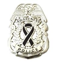 Primary Biliary Cirrhosis Pin Awareness Police ... - $10.97