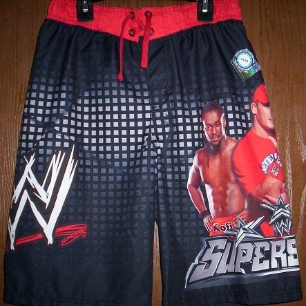 7020cf263cbbd Wwe John Cena Kofi Mysterio Swimtrunks 14/16 and 15 similar items.  Swimwwesuperfrt