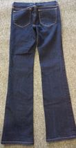 Anthropologie J BRAND Jeans Straight 805 Ink Dark Wash Low Rise Size 24 Women's image 7