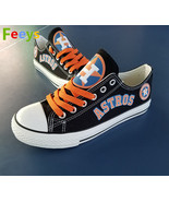 houston astros shoes womens astros sneakers black baseball fashion birth... - $55.99
