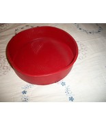 Red Silicone Round Cake Pan - $10.00