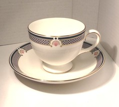 Wedgwood Waverley China TEA CUP & SAUCER, Excellent conditon - Nice Gift - $15.99