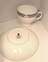 Wedgwood Waverley China TEA CUP & SAUCER, Excellent conditon - Nice Gift image 3
