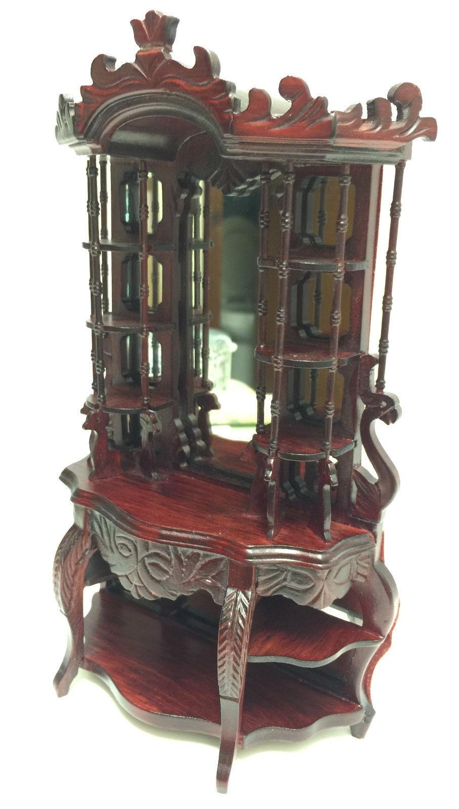 miniature ornate victorian etagere cabinet and 50 similar. Black Bedroom Furniture Sets. Home Design Ideas