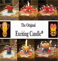 1 Rainbow + 1 Red  Amazing Lotus Flower Music Happy Birthday EXCITING CA... - $14.99