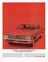 Vintage 1964 Magazine Ad Pontiac Habit Breaker For Those Who Buy The Same - $5.93