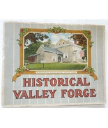 Historical Valley Forge antique vintage view book tourist US Civil War m... - $12.00