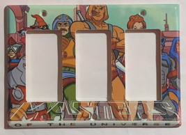 He-Man Masters of the universe Switch Outlet Wall Cover Plate Home decor image 5