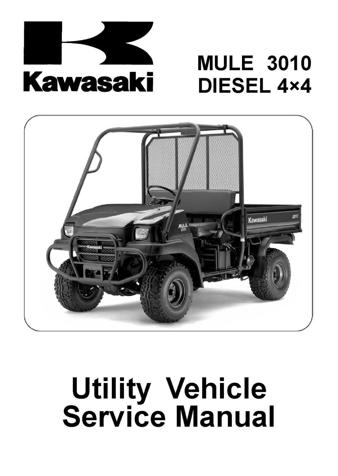 Mule 3010 diesel 4 4 2008