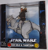 "1997 Star Wars Collector Series, 12"" Han Solo & Tauntaun Action Figure B... - $99.95"