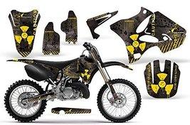 2002-2013 Yamaha YZ 125/250 AMRRACING ATV Graphics Decal Kit-Meltdown-White-Blue - $158.35