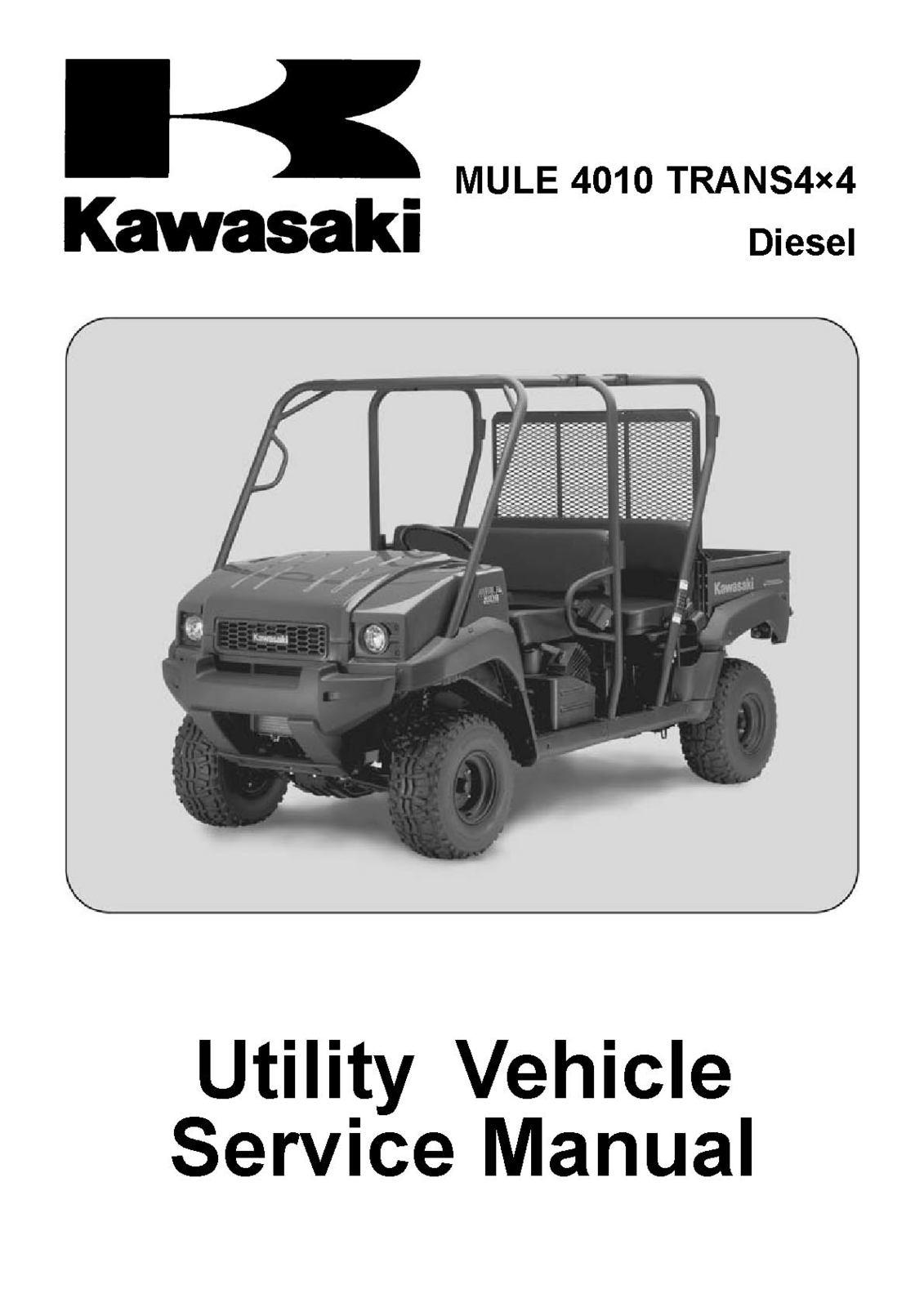 kawasaki mule 4010 trans 4x4 diesel shop and 44 similar items rh bonanza com Kawasaki Mule 500 Manual Kawasaki Mule 2510