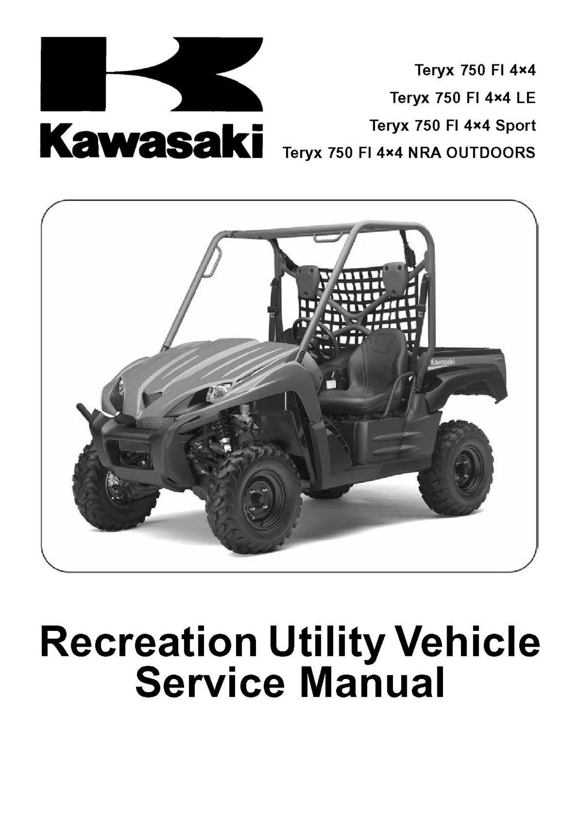 09 kawasaki teryx 750 fi 4x4 le sport nra and similar items rh bonanza com 2009 kawasaki teryx service manual pdf 2009 kawasaki teryx 750 owners manual