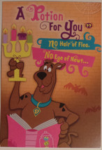 "Greeting Halloween Card Scooby-Doo! ""A Potion or you"" - $3.99"