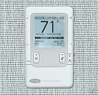 carrier infinity control thermostat systxccuid01 b programmable. Black Bedroom Furniture Sets. Home Design Ideas