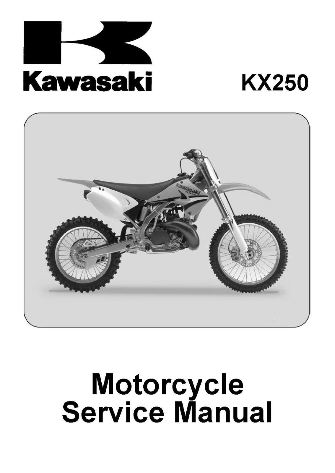 Kawasaki KX 250 KX250 R Shop Service Repair and 44 similar items. Kx250r7f  2005 2007 kx250