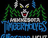 Corona light nba minnesota timberwolves neon sign 24  x 24  thumb155 crop
