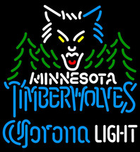 Corona Light NBA Minnesota Timberwolves Neon Sign - $699.00