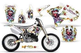 2002-2013 Yamaha YZ 125/250 AMRRACING ATV Graphics Decal Kit-Ed Hardy Love Ki... - $178.15