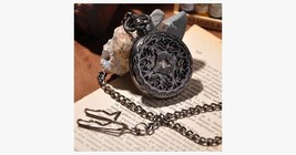 Black Cage Full Hunter Pocket Watch - $23.99