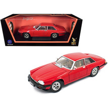 DDS-9163 1975 Jaguar XJS Coupe Red 1/18 Diecast Model Car by Road Signature 9... - $62.85