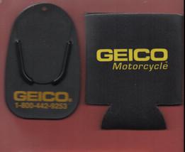 GEICO Motorcycle new Koozie & Kickstand Plate/Pad - $5.99