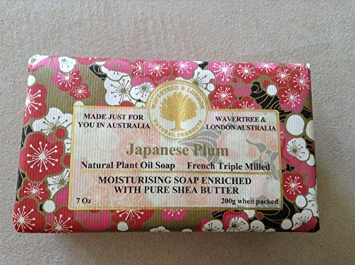 Japanese Plum 200g Single Bar Luxury Soap