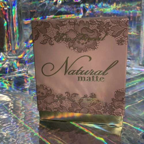 NEW IN BOX Too Faced Natural Matte Eyeshadow Palette Beautiful!