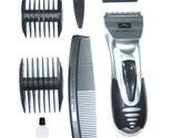 Cordless Professional Hair Clipper Cutting Trimmer Beard Shaver Combs Set