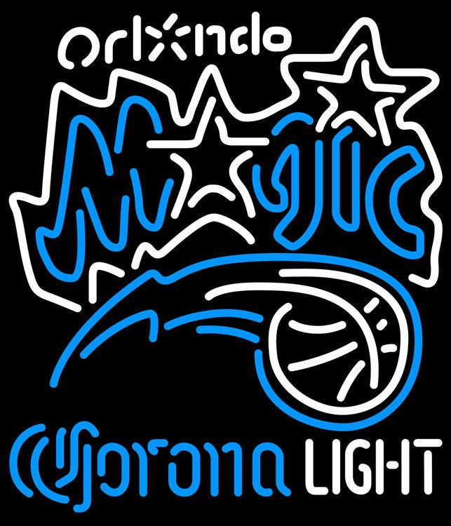 Corona Light NBA Orlando Magic Neon Sign