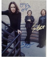 Black Sabbath Hand Signed Photo 8x10 Ozzy Osbourne Geezer Butler Tommy I... - $149.99