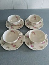 Theodore Haviland Delaware (4 Sets) Coffee Cups & Saucers - USA - Excellent - $35.00